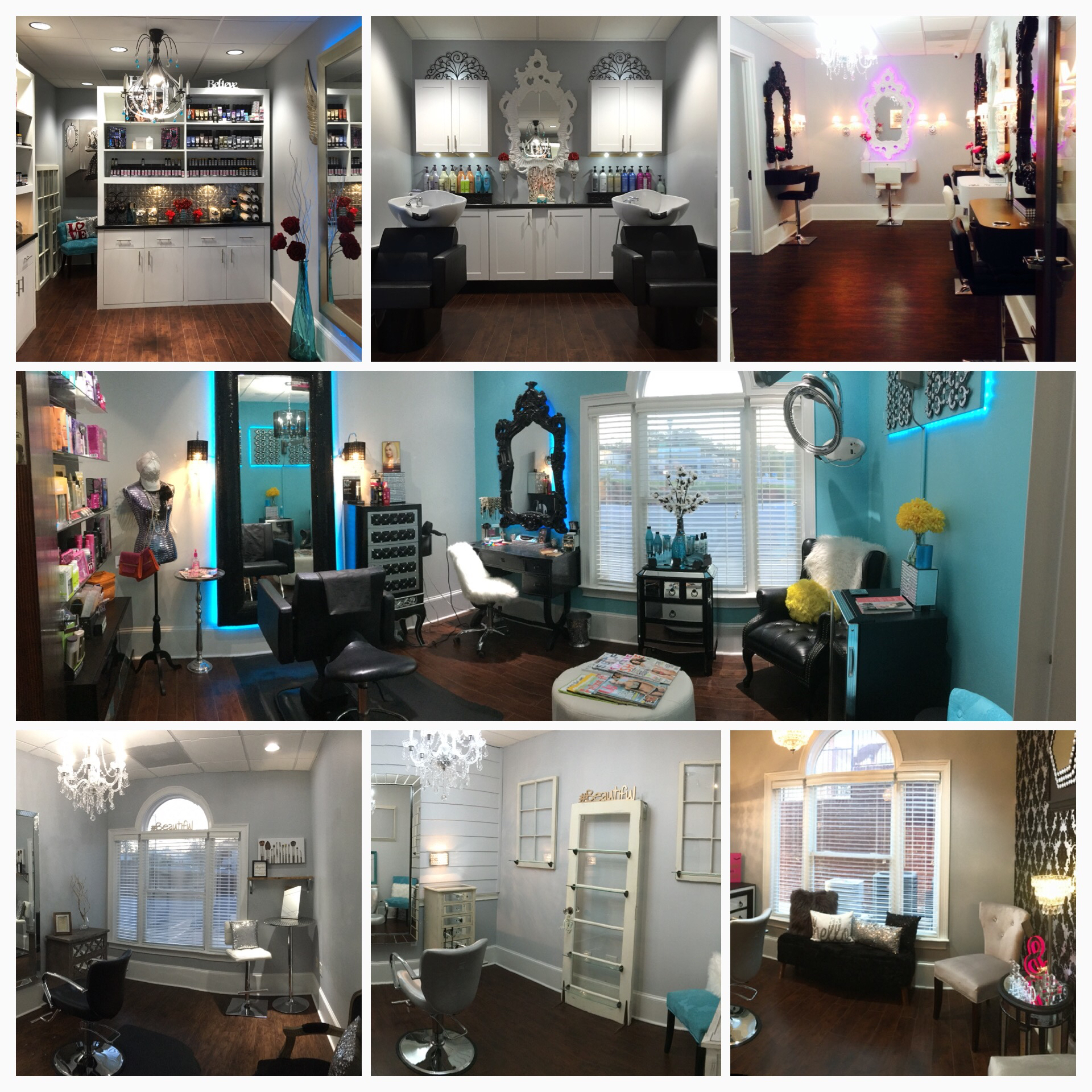 Photo Collage of all Studio Suites